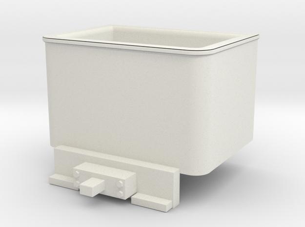 Godchaux 0-4-4T Coal Bunker for Minitrix 0-4-0 Tan in White Strong & Flexible