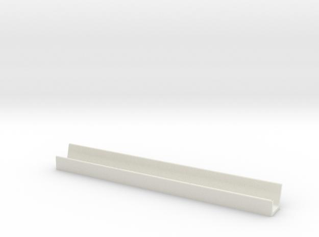 1/64 Fence Line Feedbunk - 30ft in White Natural Versatile Plastic