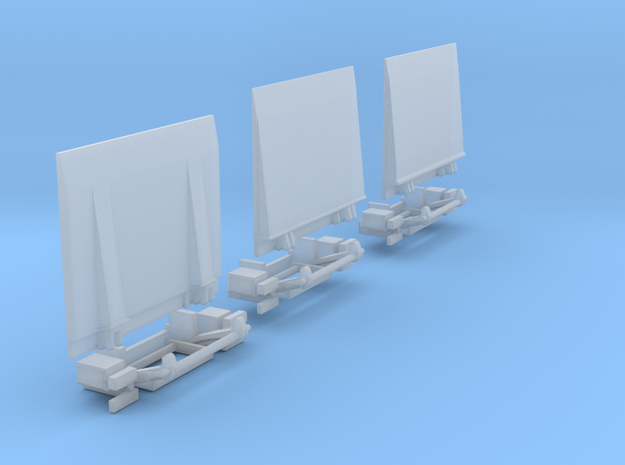 Ladeboardwand Für Sprinter  2,45cm X 2cm Hoch Mit  in Smooth Fine Detail Plastic