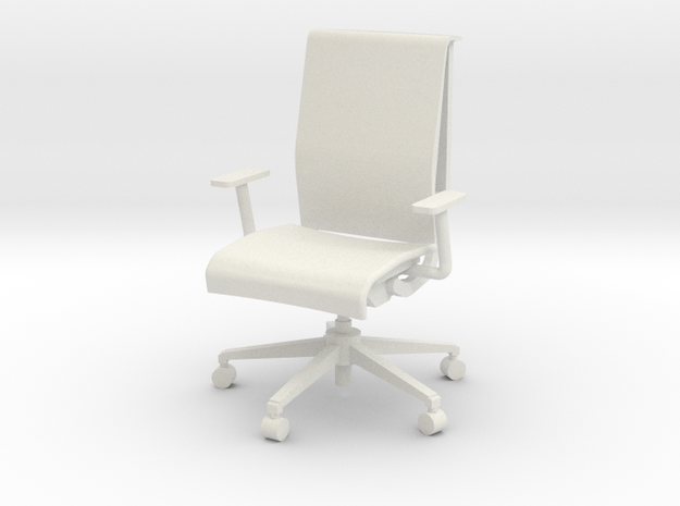 """Steelcase Think Chair 4"""" in White Natural Versatile Plastic"""