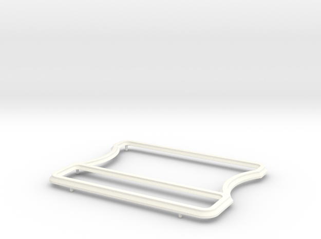 A90 Atlantic Grille frame (4B1869) in White Processed Versatile Plastic