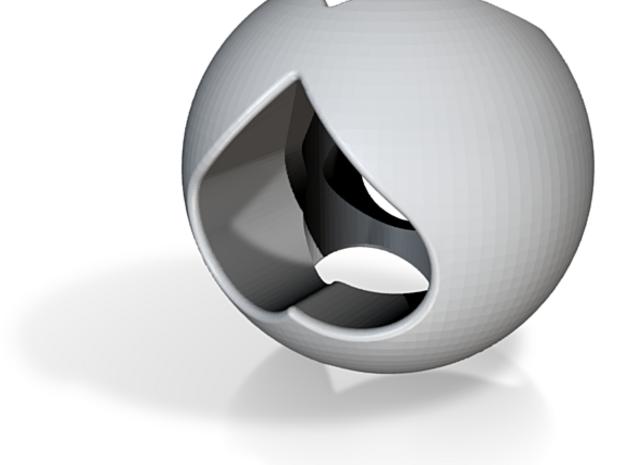 Heart Sphere 3d printed