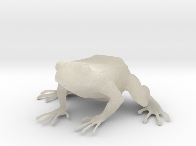 1.2 low poly frogr 3d printed