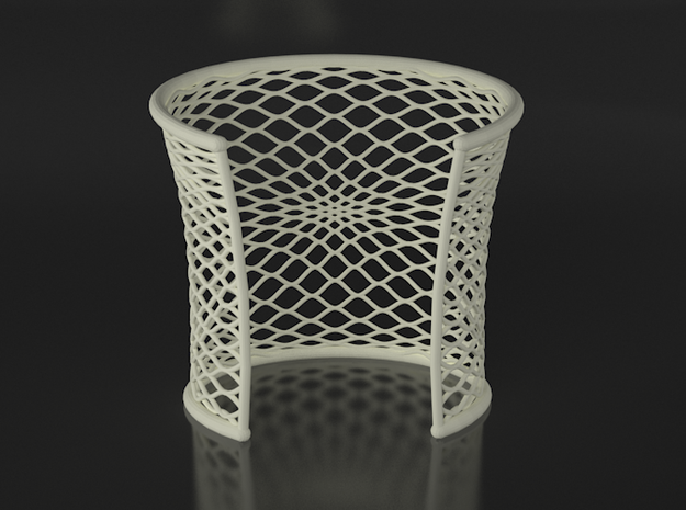 Woven Cuff - Medium 3d printed VRay render