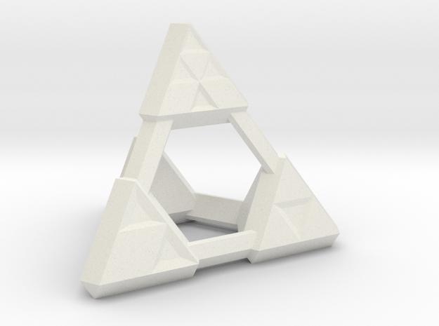4s icowire dice in White Natural Versatile Plastic