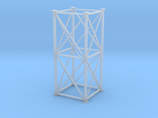 """'HO Scale"""" - 8'x8'x20' Tower in Smooth Fine Detail Plastic"""