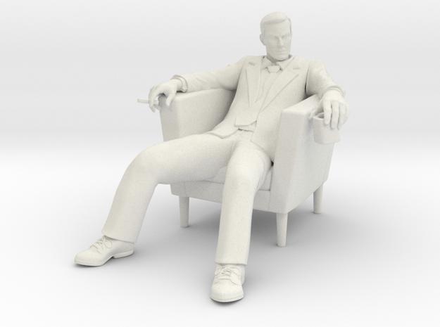 Don Draper in White Natural Versatile Plastic