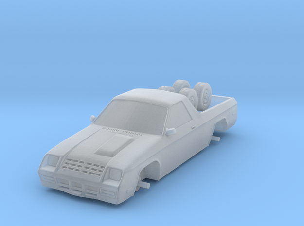 1/87 Scale Rammy Coupe Utility in Smooth Fine Detail Plastic