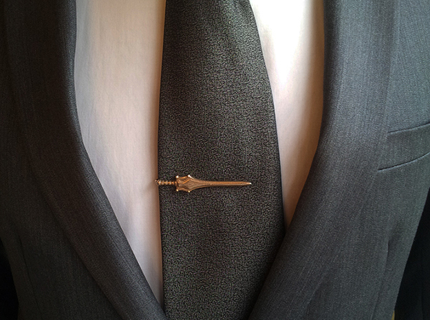 Sword of Power Tie Clip 3d printed