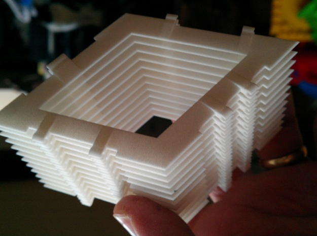 Clickit Frame Stack12 3d printed