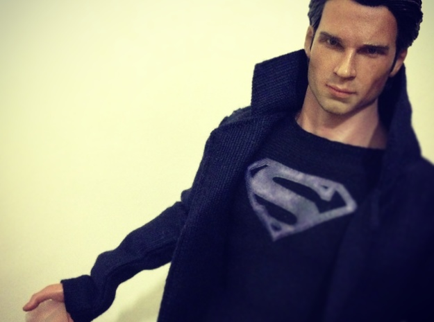 Smallville - Fortress Crystal *1/6th scale* in Smooth Fine Detail Plastic