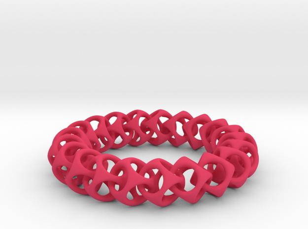 HS Bracelet in Pink Processed Versatile Plastic