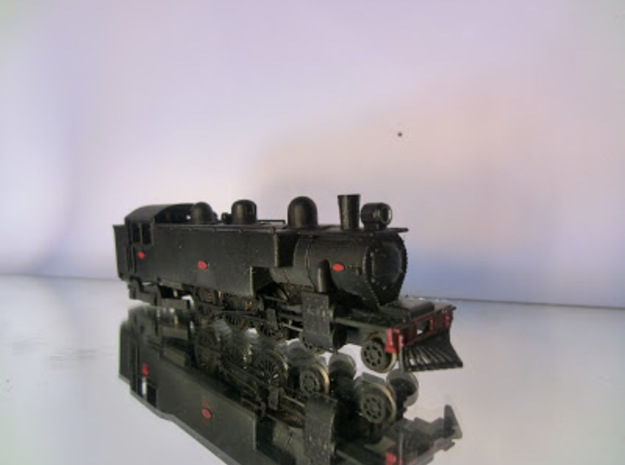 NZR WAB Class NZ120 in Smooth Fine Detail Plastic