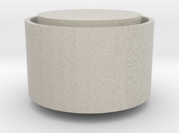 Mini Candle Holder in Natural Sandstone