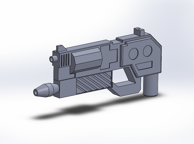 The Life Taker 3d printed