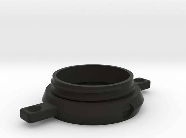 Grinder Collar 2b in Black Natural Versatile Plastic