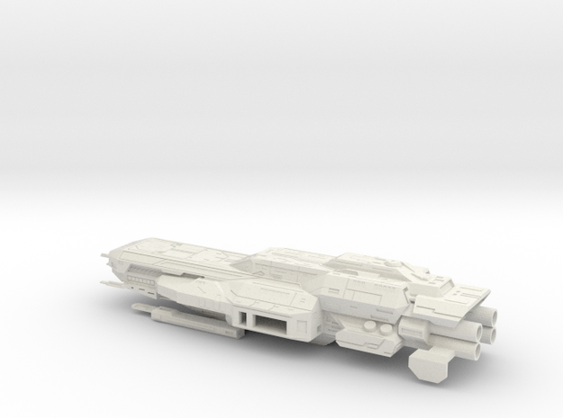 Quafe Warbarge in White Strong & Flexible