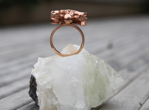 J 03 in 14k Rose Gold Plated