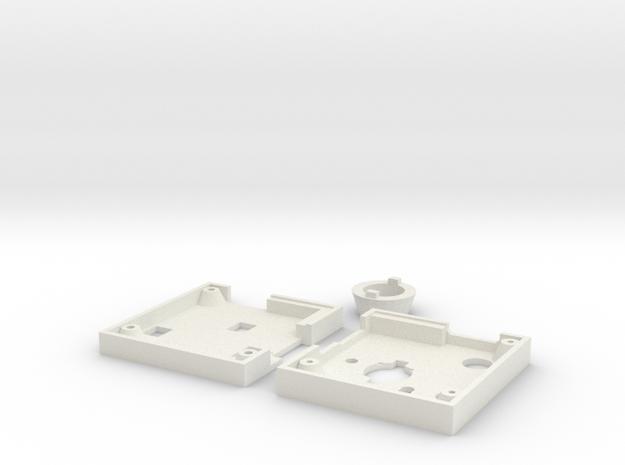 BPi-D1 case in White Natural Versatile Plastic