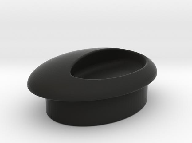 love handles I Egg handle H I soon: porcelain! in Black Natural Versatile Plastic