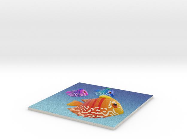 FireFish in Full Color Sandstone