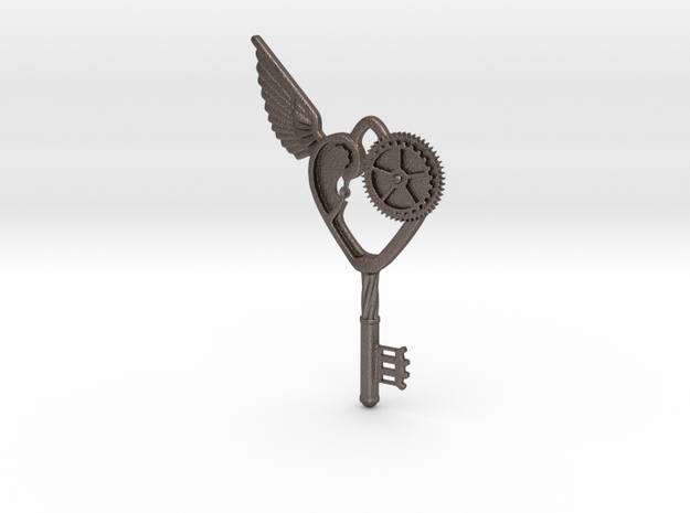Key Pendant in Stainless Steel