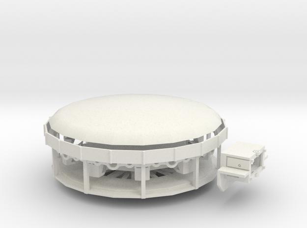 Swingmill - Antrieb 1:220 (Z scale) in White Strong & Flexible