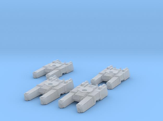 285th Centaur Hovertank platoon (tank hulls only) 3d printed