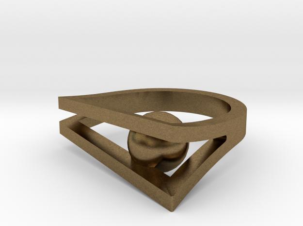 Peekaboo Ring 3d printed