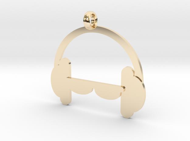 Headphones charm 3d printed