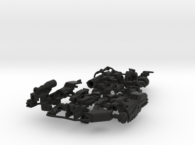 Sawoff the Carabinier 3d printed