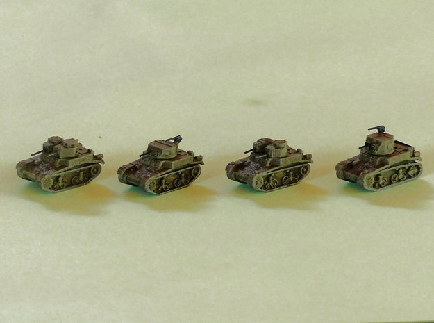 M1 & M2 Combat Cars / Light Tanks 1/220