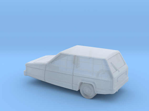 Reliant Robin (Z-Scale 1:220) 3d printed