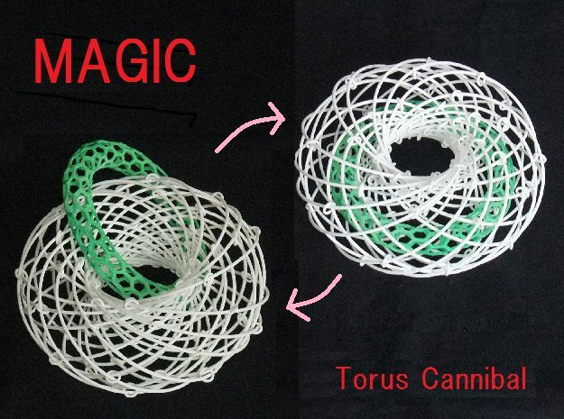 Torus Magic with Ring 2 in White Strong & Flexible