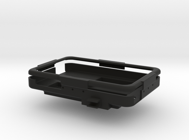 No. 11 - ToughPad Case w/ Center Mount in Black Natural Versatile Plastic