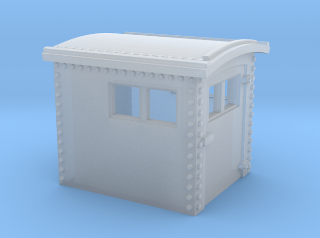 N&W Style Dog House N Scale 1:160 3d printed