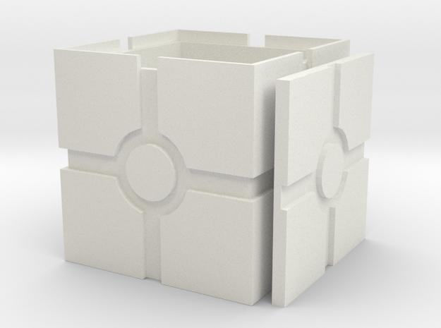 Iconic Box, revised in White Natural Versatile Plastic