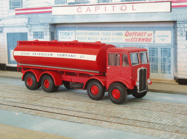 1:43 AEC Mammoth Major Mk1 Cab & 8Whl Chassis 3d printed
