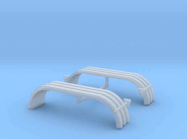 1/64th UFS Tandem Fenders Ribbed w lights