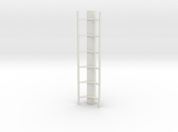 Rails Small in White Natural Versatile Plastic