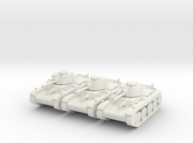 1/144 Panzer 38t (3 pieces)