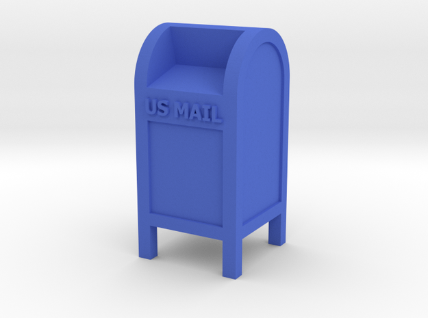 Mail Box - US Mail qty (1) HO 87:1 Scale