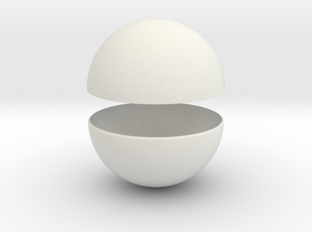 Sphera Solida in White Strong & Flexible