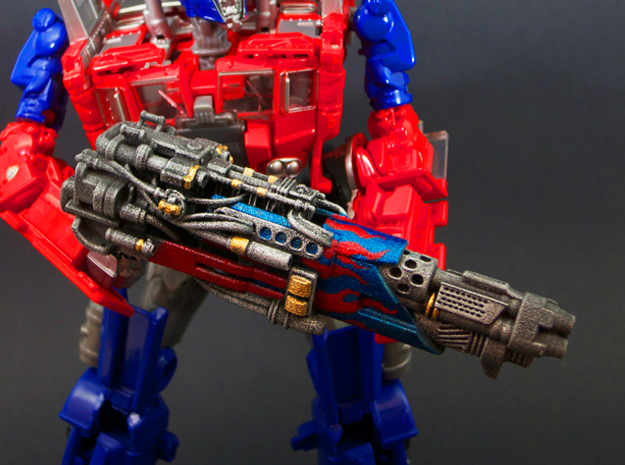 Tri-barrel Blaster for Evasion Optimus