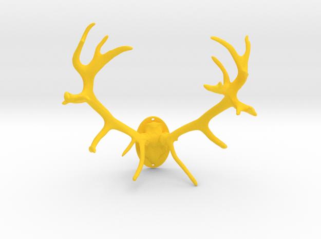 Red Deer Antler Mount 40mm