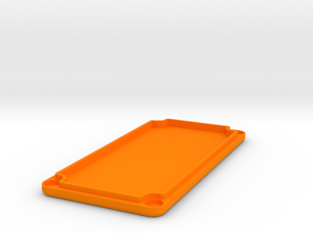 1590G Lid (Goes with No Lean Box) in Orange Strong & Flexible Polished