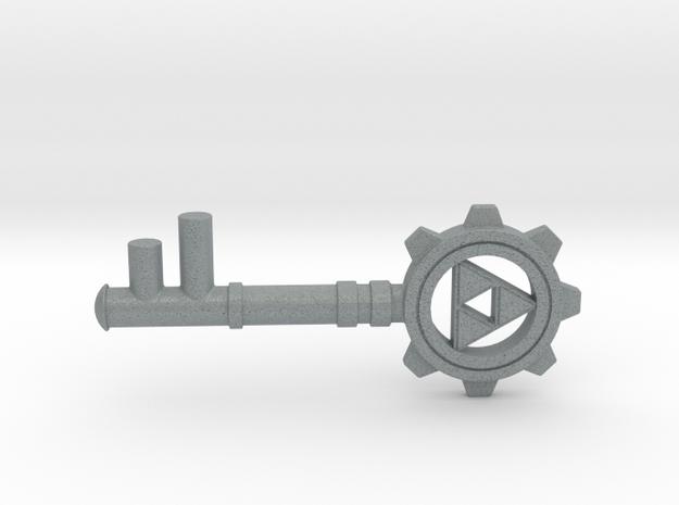Zelda Dungeon Key in Polished Metallic Plastic
