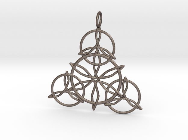 Celtic Knots Pendant in Stainless Steel