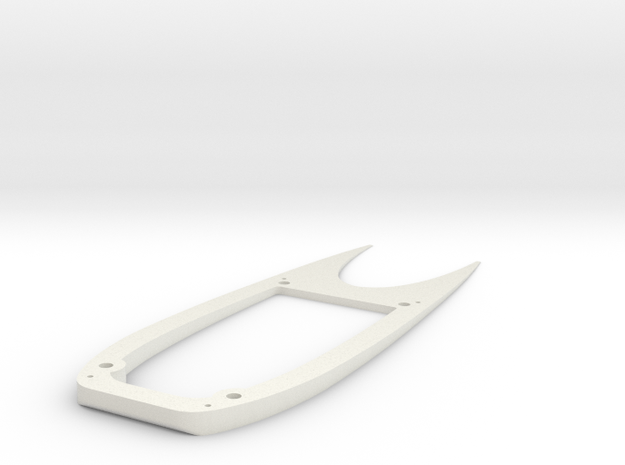 Ranger EX Wing Angle Spacer Top Plate in White Natural Versatile Plastic