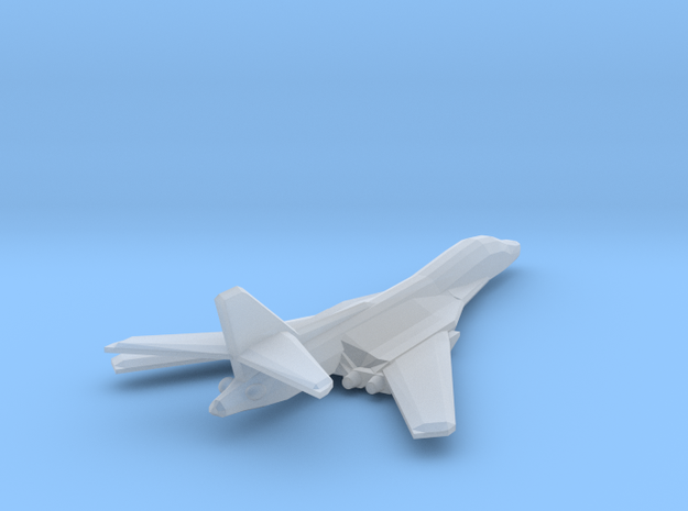 [Galaxia] Excalibur (Wings Swept) in Smooth Fine Detail Plastic